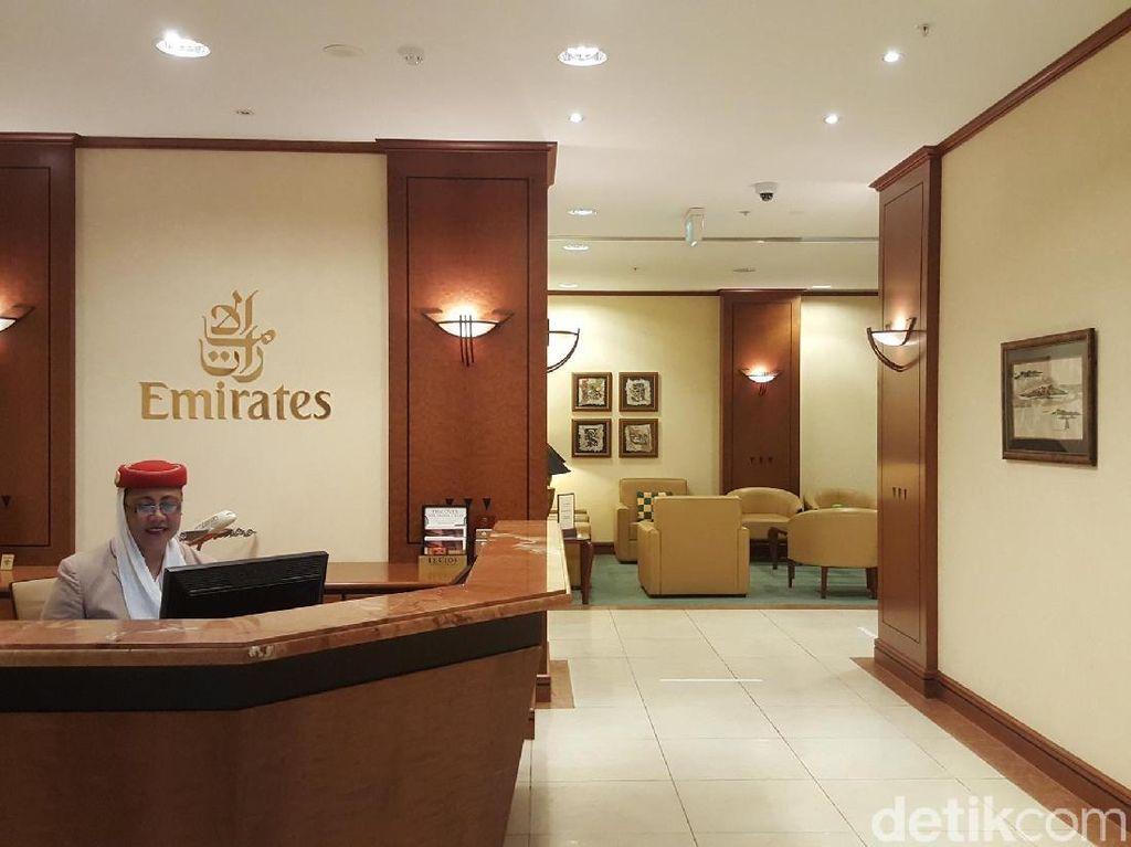 Lounge Emirates yang Super Nyaman di Auckland, Selandia Baru