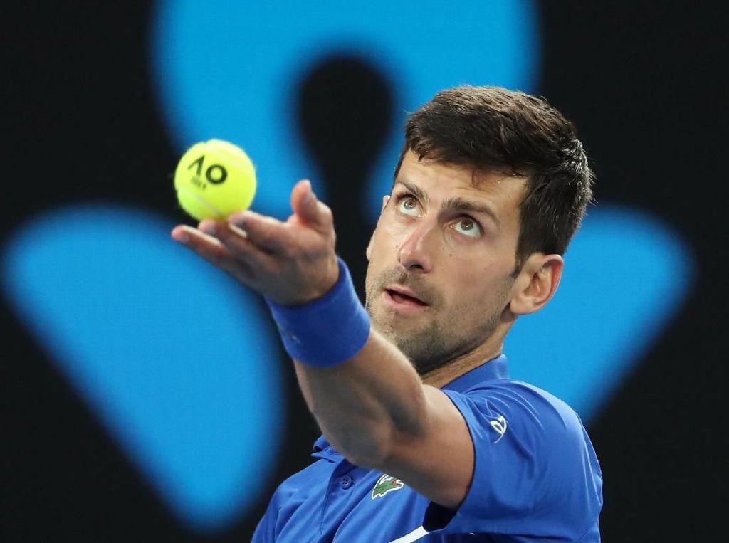 Nishikori Retired, Djokovic Melangkah ke Semifinal Australia Terbuka