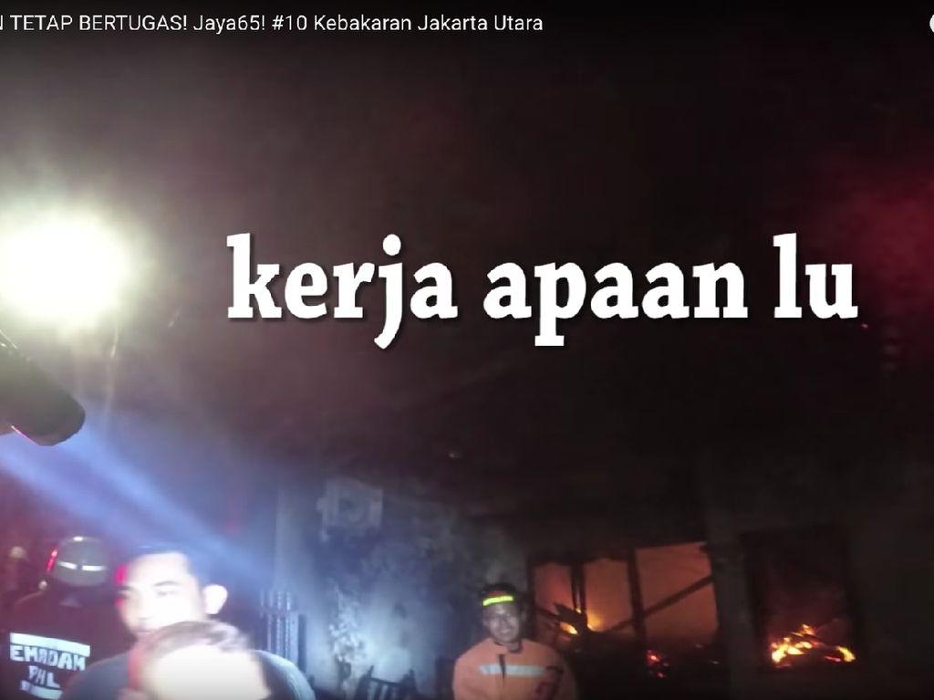 Videonya Viral, Petugas Damkar Jakut Cerita Momen Dimaki Saat Bertugas