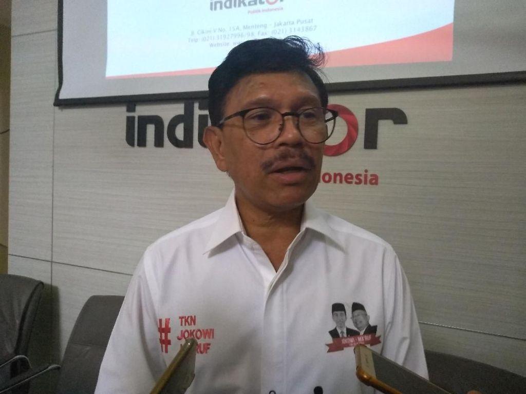 BPN Pertanyakan Dana Sabun Jokowi, TKN Ungkit Uang Kardus Sandiaga