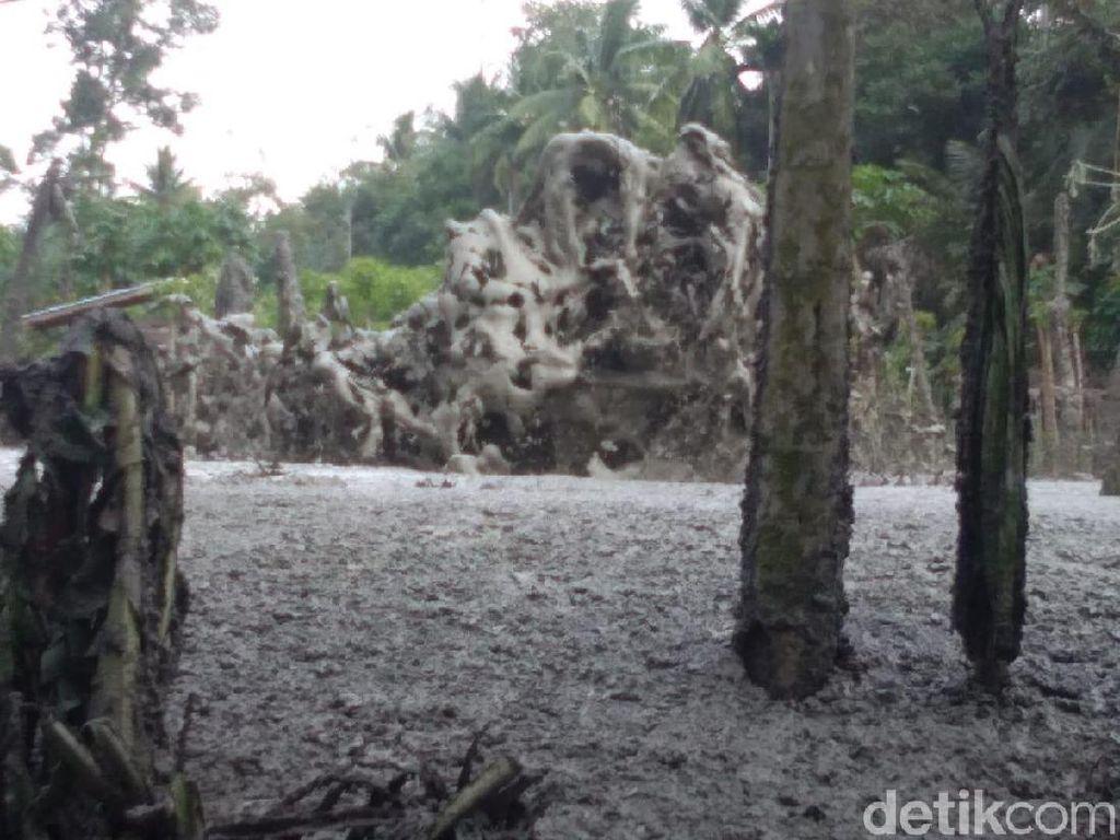 Semburan Gas Setinggi 20 Meter Muncul di Permukiman Warga di Aceh Utara