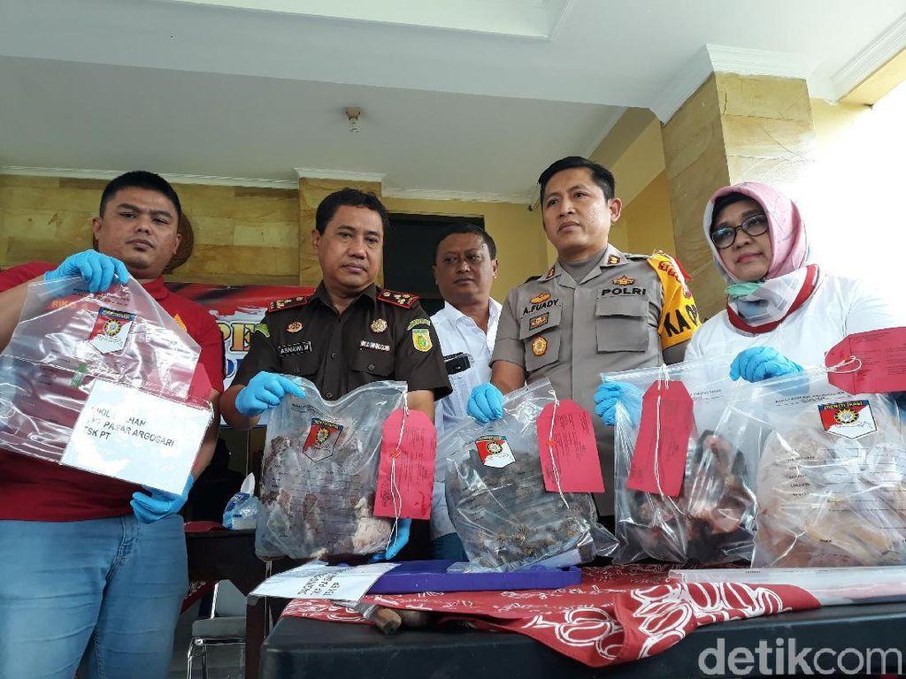 Polisi Tangkap 2 Penjual Oplosan Daging Sapi dan Babi di Gunungkidul