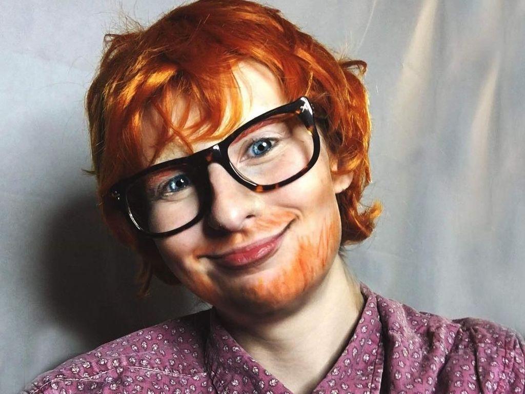 Brilian, Wanita Cantik Sulap Dirinya Jadi Joker hingga Ed Sheeran