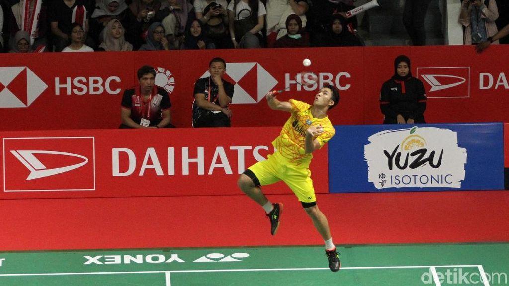 Pulangkan Shi Yuqi, Jonatan Lolos ke Perempatfinal Indonesia Masters
