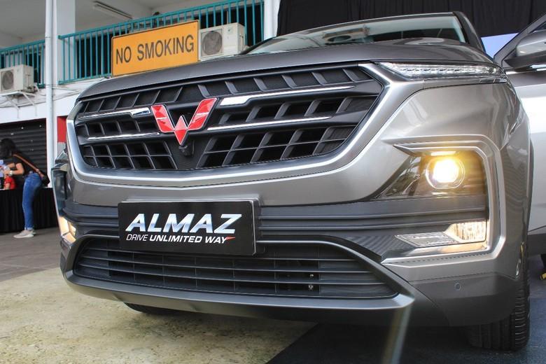 Wuling Almaz. Foto: Ruly Kurniawan