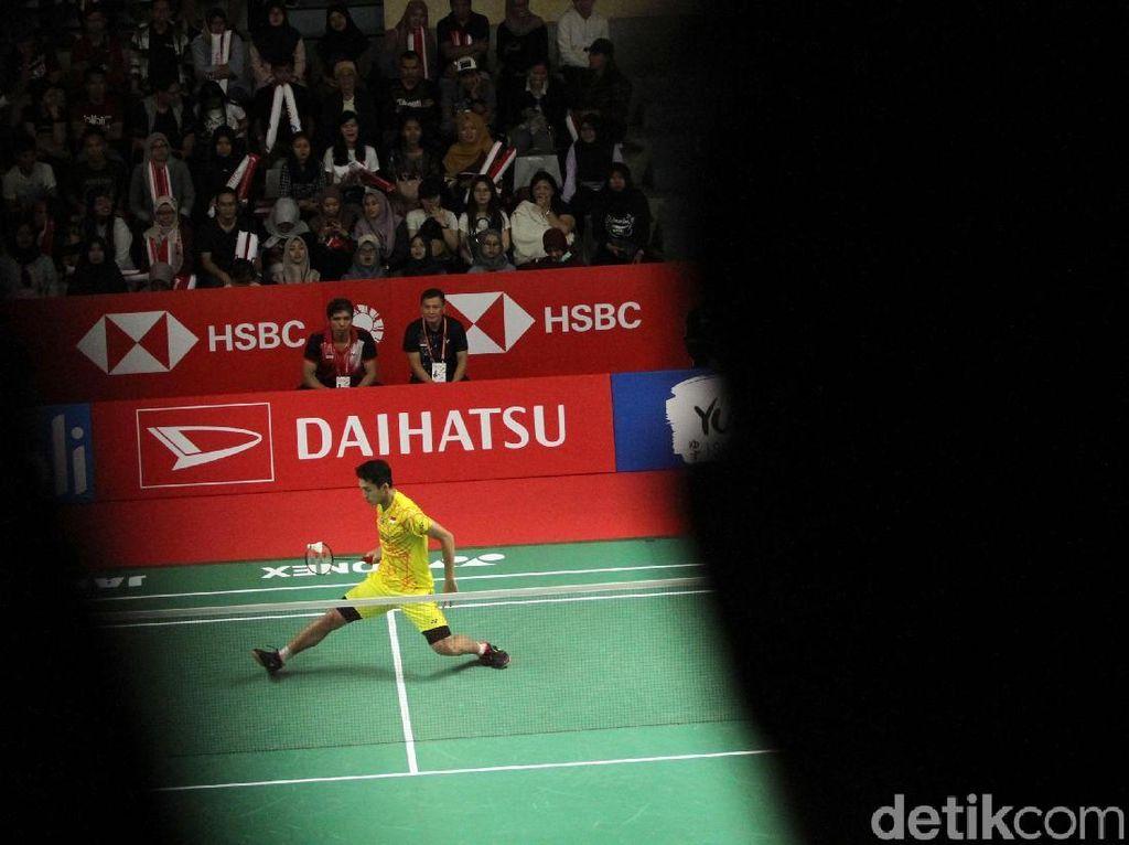 Jonatan Christie Jejak Semifinal Usai Kandaskan Kidambi