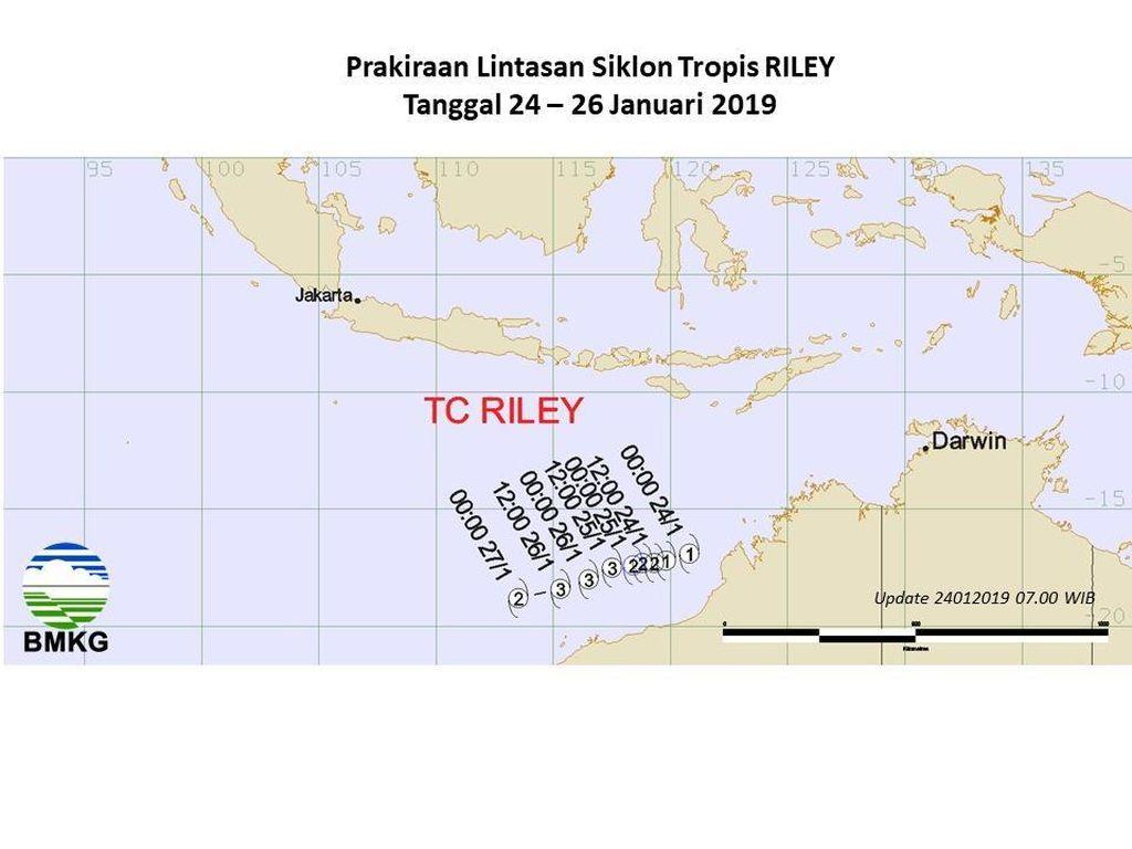 Ada Siklon Tropis Riley, Begini Dampaknya di Yogyakarta