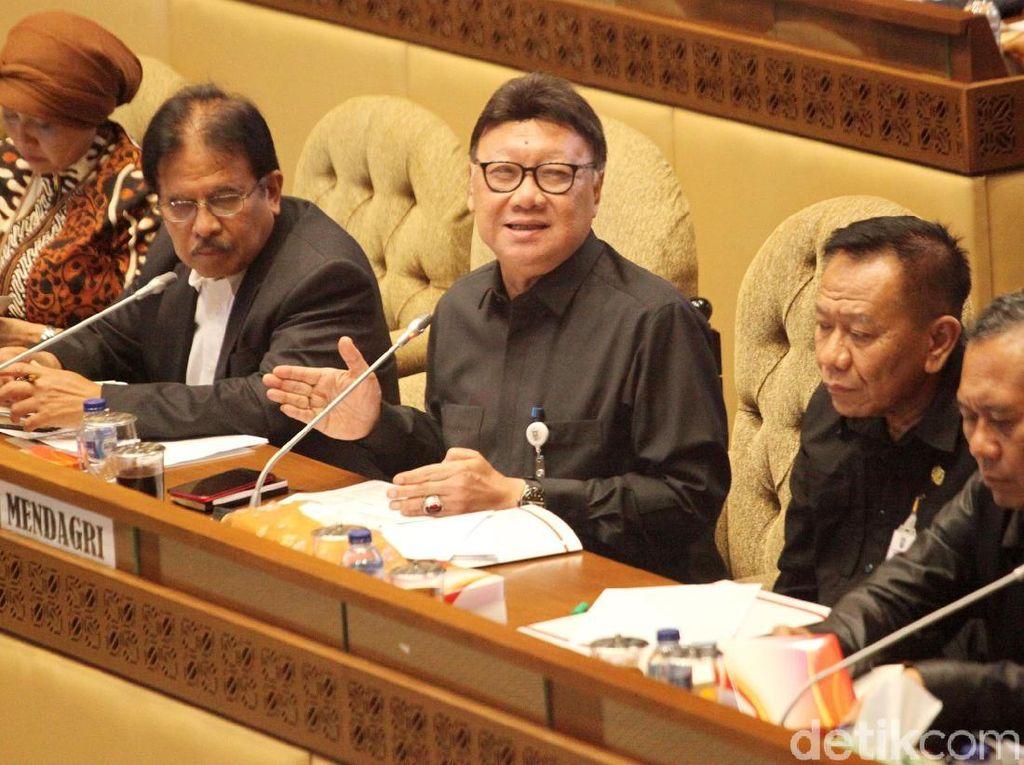 Di Rapat DPD, Mendagri Bicara Sistem e-Voting untuk Pemilu Mendatang