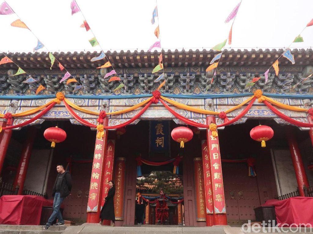 Bixia, Kelenteng Keselamatan Perempuan di Gerbang Surga China