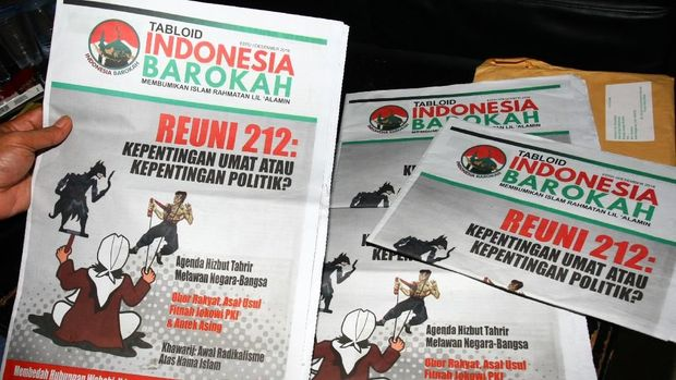 Ogah Komentar, Jokowi Mau Cari Dulu Tabloid Indonesia Barokah