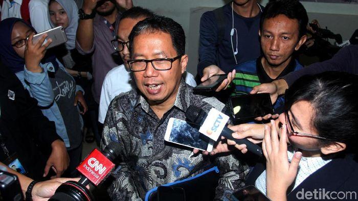 Plt Ketua Umum PSSI Joko Driyono (Lamhot Aritonang/detikSport)