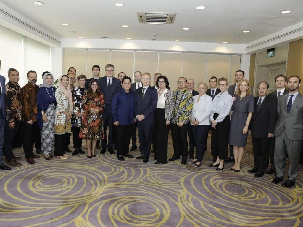 Kala Dubes Uni Eropa Masuk Markas Prabowo dan Jokowi