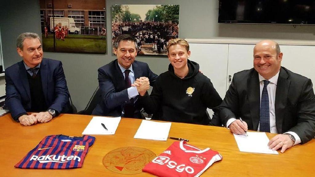 3 Tahun Lalu Masih Jadi Fans, Kini De Jong Berseragam Barcelona