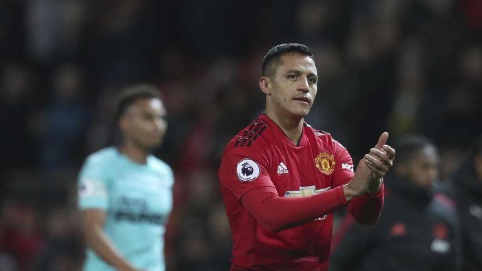 Penyerang Manchester United Alexis Sanchez bakal comeback ke Arsenal (AP Photo/Jon Super)
