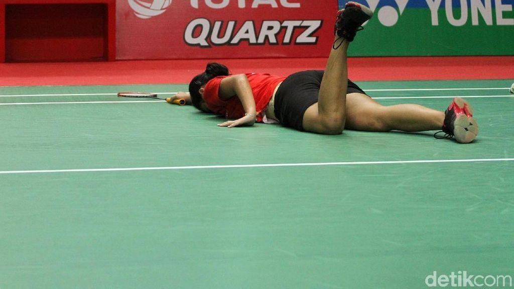 Gregoria Tersungkur di Babak Kedua Indonesia Masters, Tunggal Putri Habis