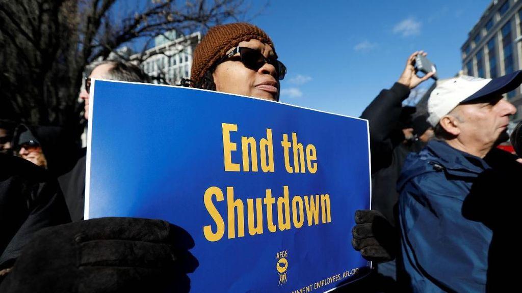 Derita Pegawai Pemerintah AS Nganggur Gegara Shutdown