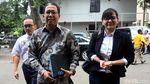 Senyum Plt Ketum PSSI Joko Driyono Saat Diperiksa Polisi