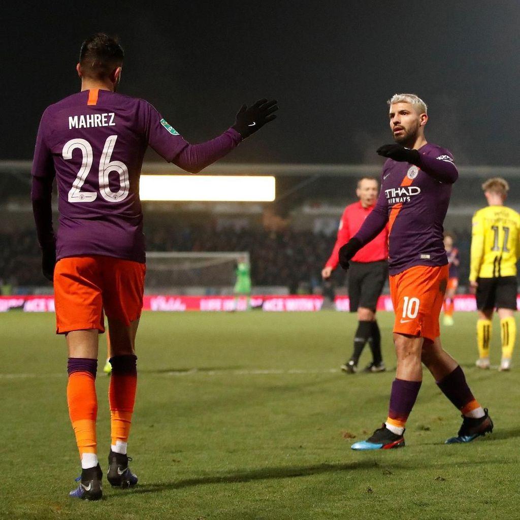 Manchester City ke Final Piala Liga Inggris