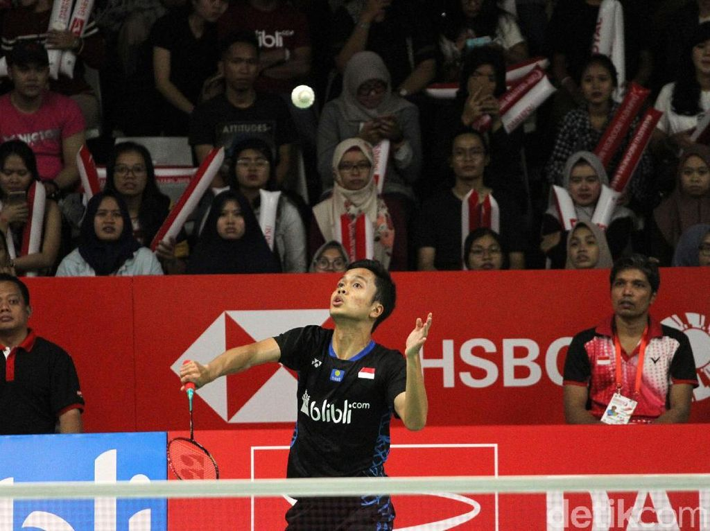 Gagal Pertahankan Gelar Indonesia Masters, Anthony Ginting Minta Maaf