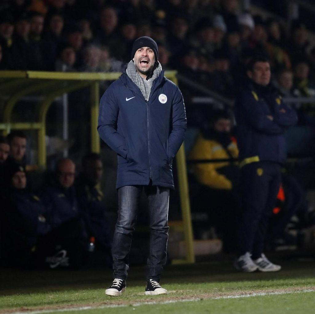 Guardiola: Meski Menang Tipis, City Tetap Serius Lawan Burton