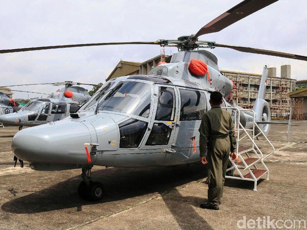 Penampakan Helikopter Anti Kapal Selam Made in Bandung