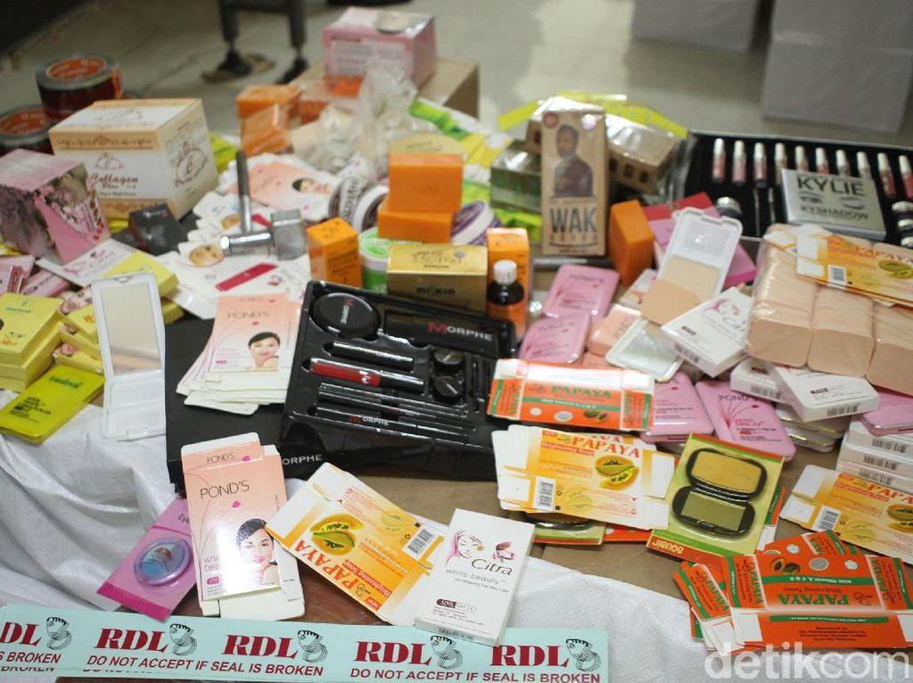 BPOM Gerebek Pabrik Kosmetik Ilegal, Banyak Merk Terkenal Ikut Dipalsukan