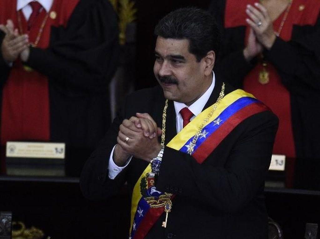 Tak Akan Menyerah pada AS, Maduro Minta Dunia Hentikan Kegilaan Trump