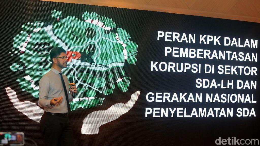 KPK Beberkan Potensi Korupsi Sektor Lingkungan