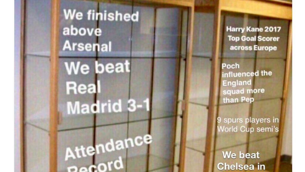 Netizen Tertawakan Tottenham yang Dikandaskan Chelsea