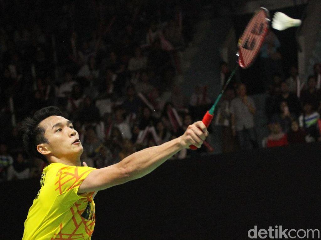 Jonatan Christie Tembus Semifinal Indonesia Masters 2019