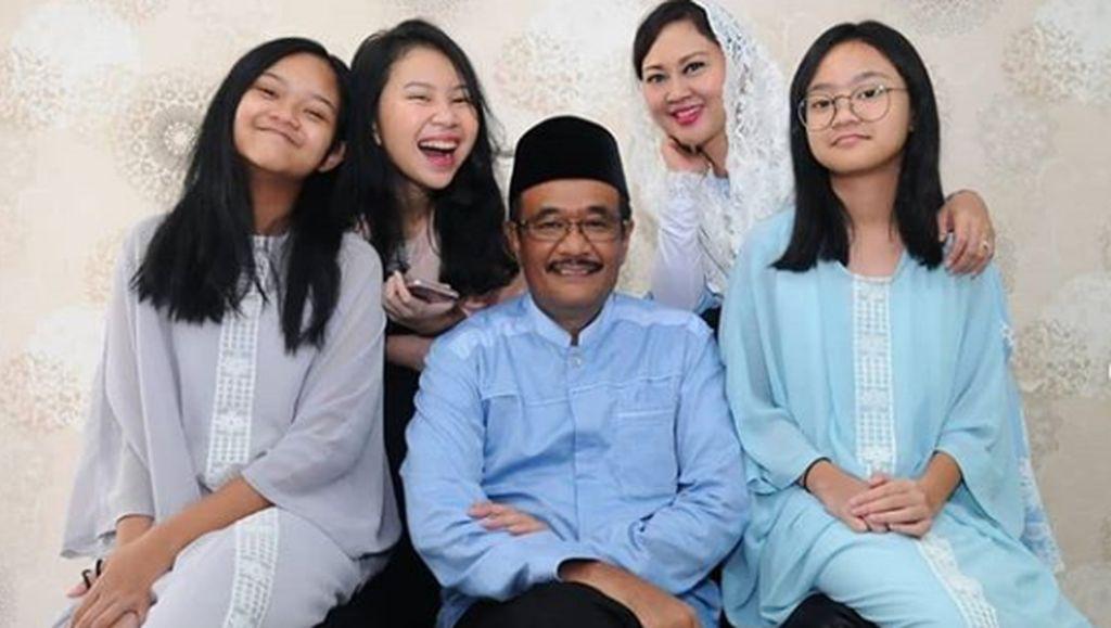 7 Momen Hangat Djarot Saiful Hidayat Bersama Keluarga
