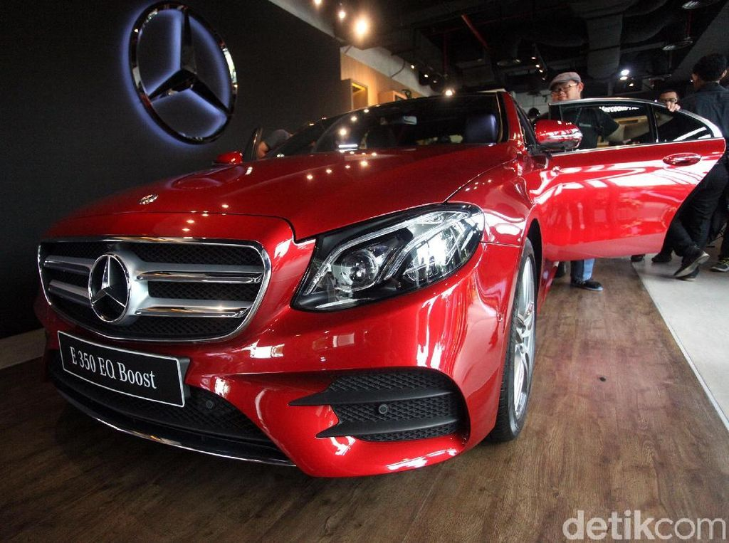 Mercy E 350 EQ Boost Rakitan Lokal Nih!