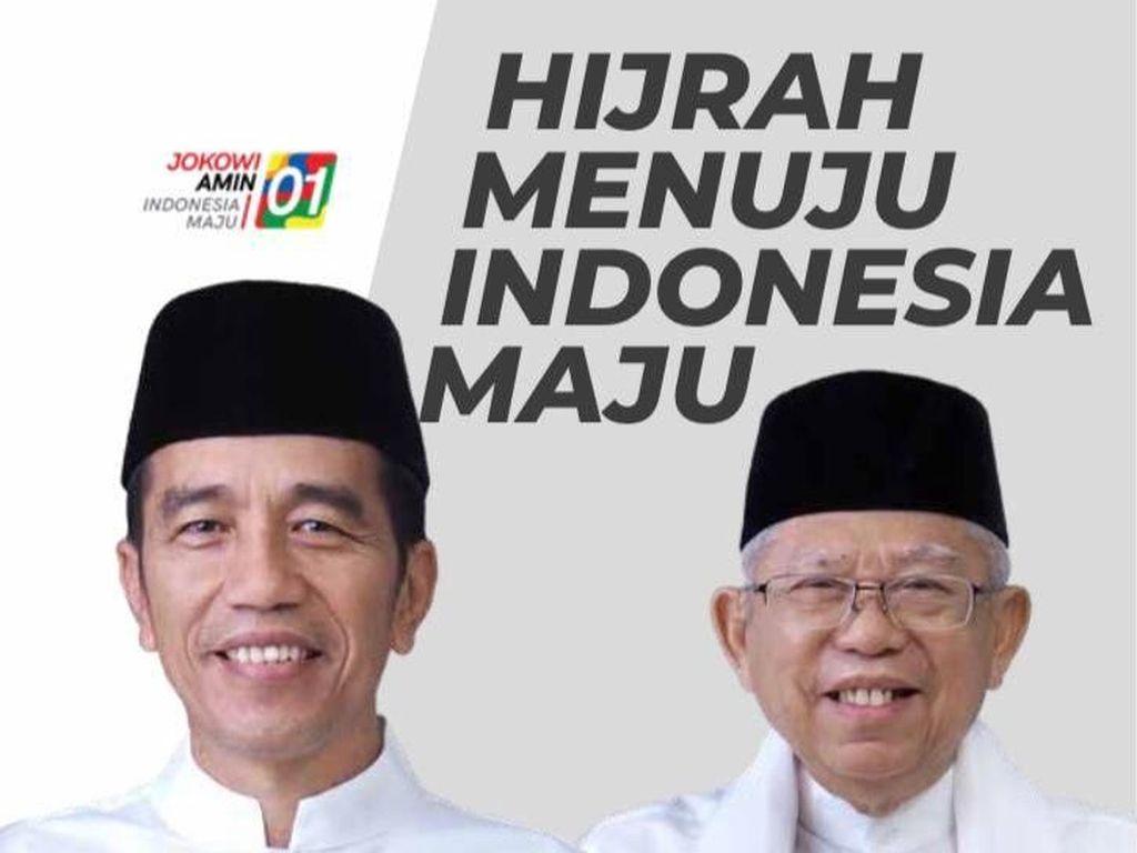 Jokowi-Maruf Unggul di Survei Cyrus Network, TKN Tak Mau Terlena