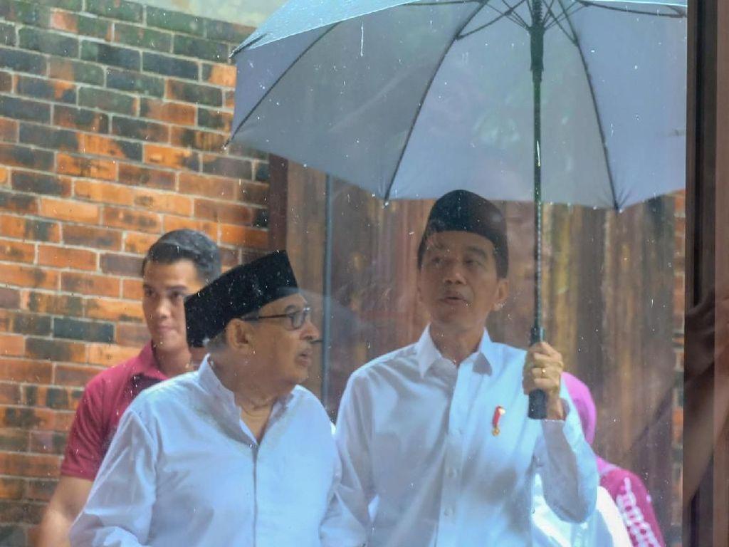 Jokowi Bahas Islam Moderat dengan Quraish Shihab