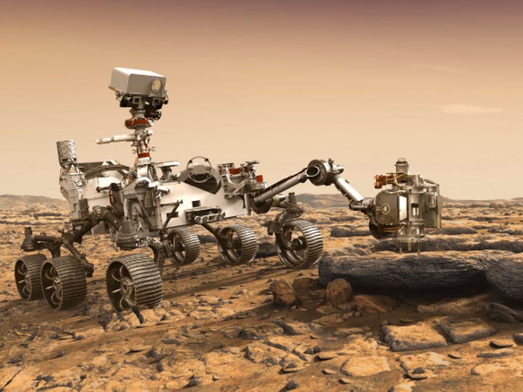 Ultah Menyedihkan Robot Opportunity di Planet Mars