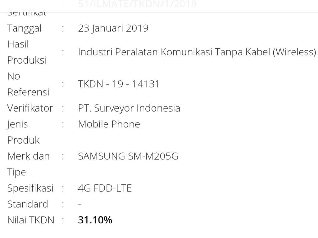 Samsung Galaxy M Penantang Xiaomi Sudah Lolos TKDN