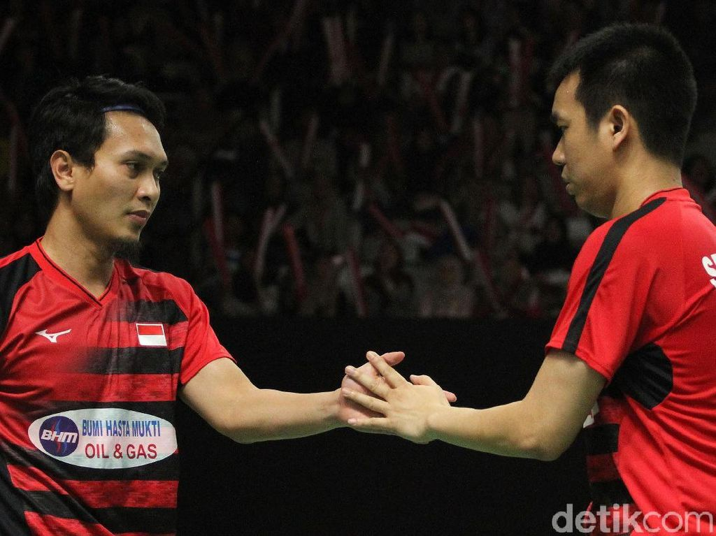 Hendra/Ahsan The Daddies Hot Banget
