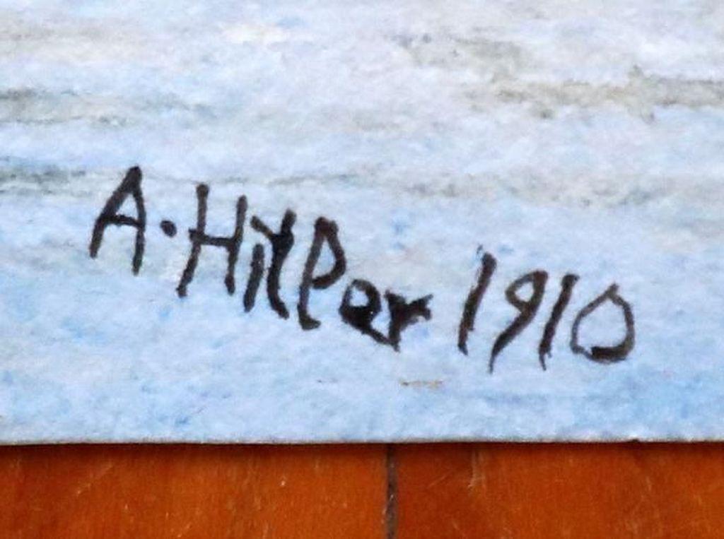 Lukisan Buatan Adolf Hitler dari Tahun 1910 Dilelang di Berlin