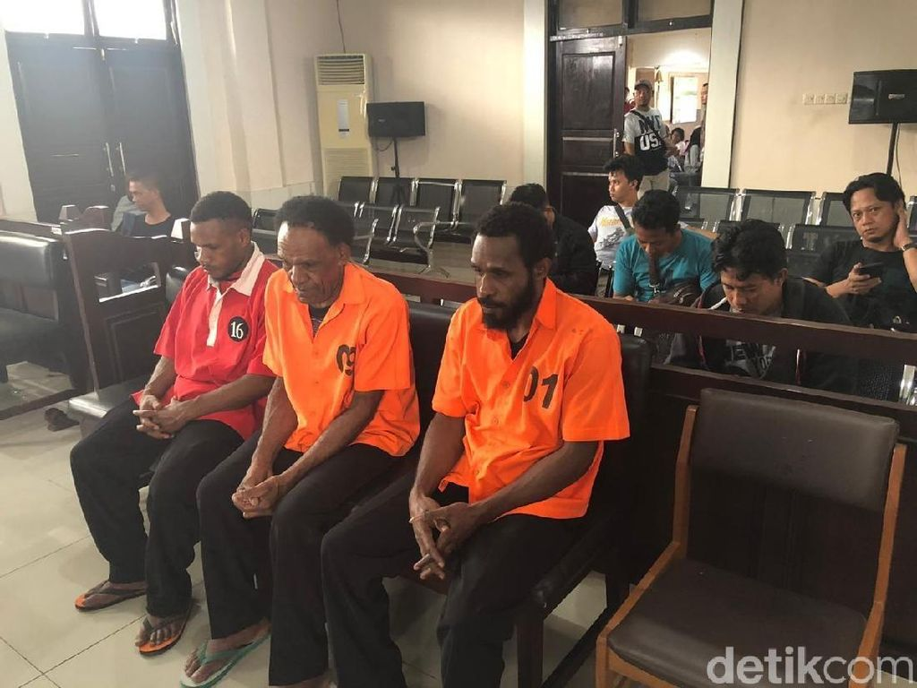 Penyuplai Amunisi Senjata KKB Papua Divonis 2,5 Tahun Penjara