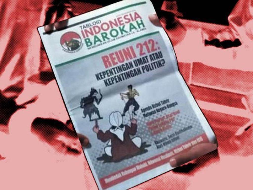Polisi Minta PT Pos Tahan Distribusi Tabloid Indonesia Barokah