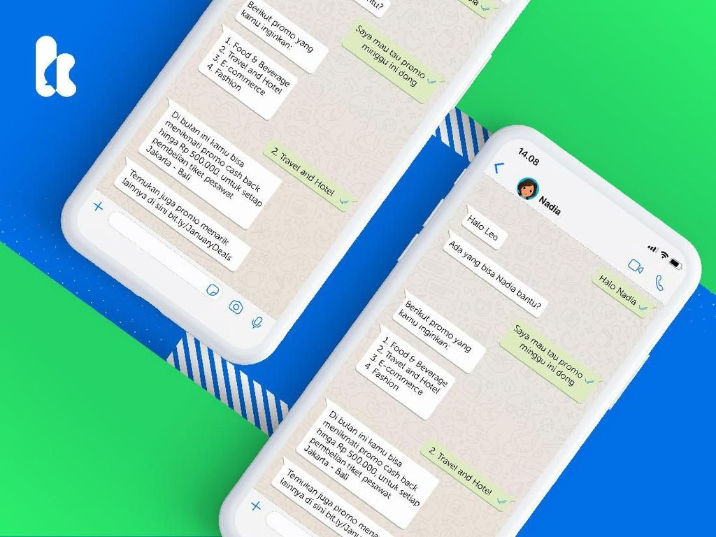 Kata.ai Bikin Layanan Chatbot Terintegrasi dengan WhatsApp