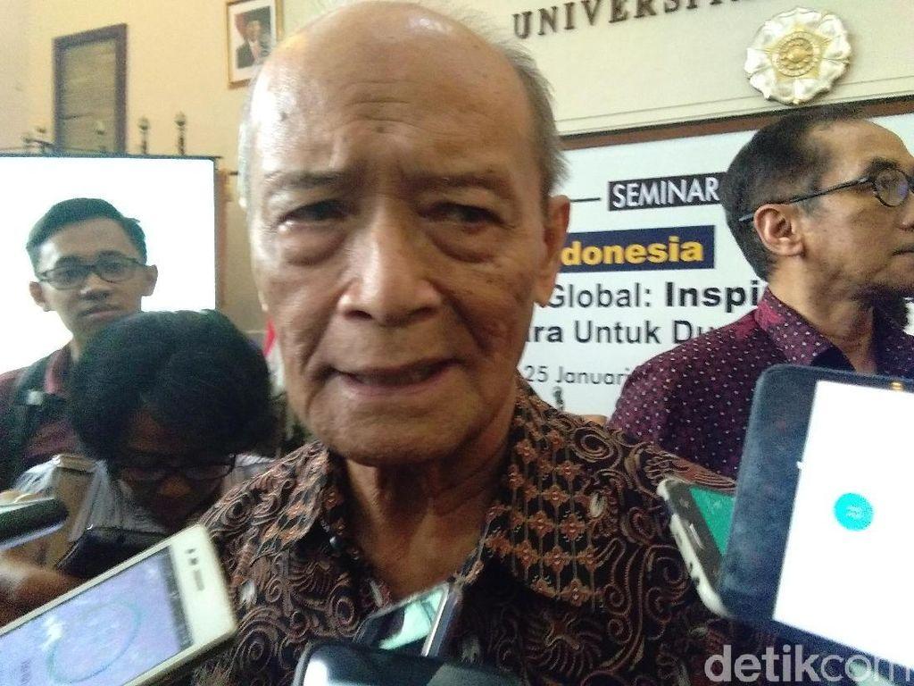 Indonesia Barokah Sasar Masjid dan Ponpes, Buya Syafii: Biadab!