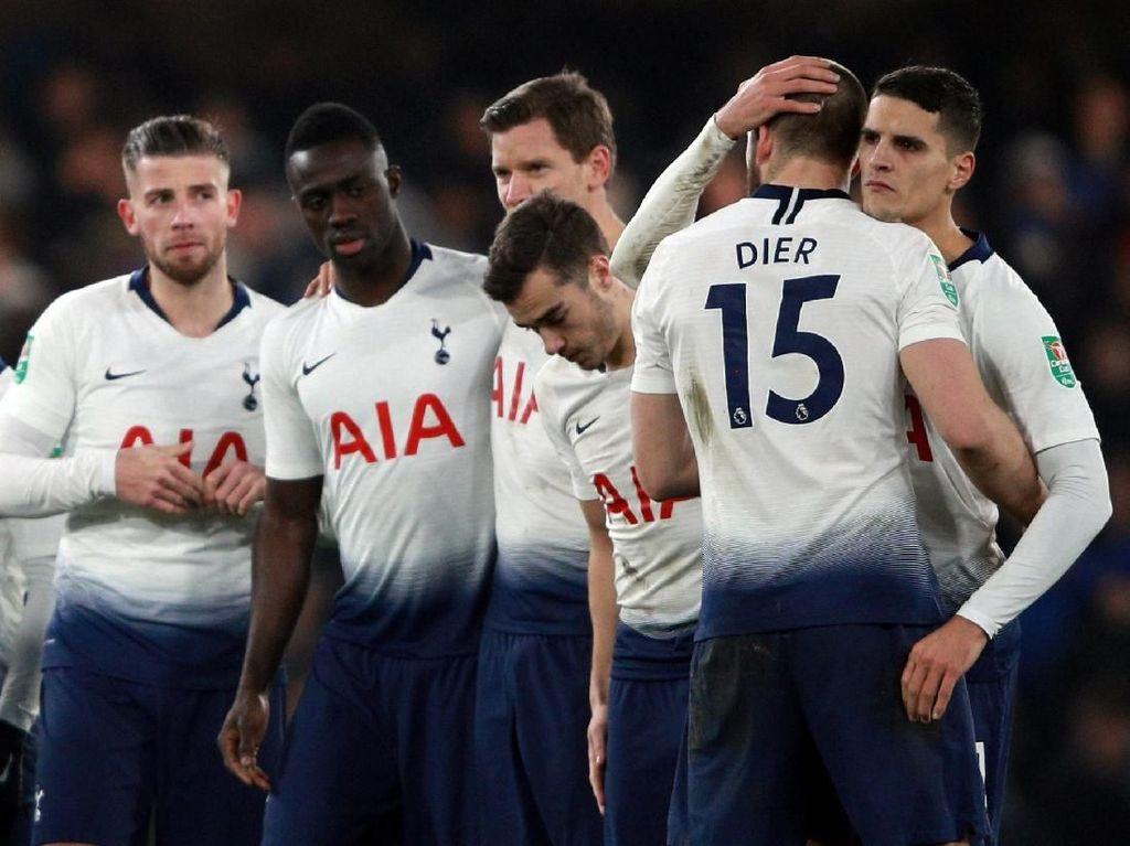 Gol Tandang Spurs Tiada Artinya