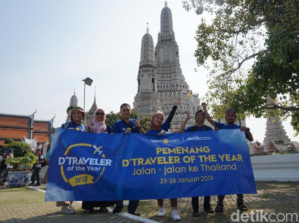 Hari Ketiga, dTraveler Jelajah Aneka Kuil di Bangkok Thailand
