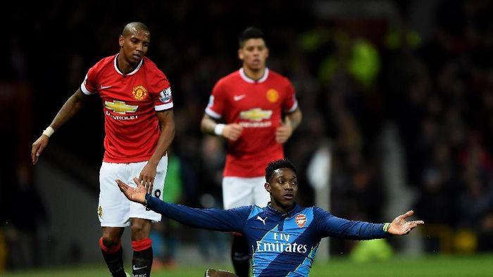 Duel terakhir Arsenal dan MU di Piala FA 2015 (Laurence Griffiths/Getty Images)