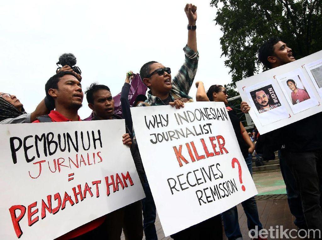 AJI Makassar Apresiasi Jokowi atas Pencabutan Remisi Pembunuh Wartawan