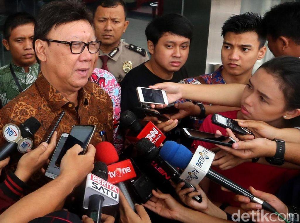 KPK Cecar Mendagri soal Rapat Perizinan Meikarta di Komisi II DPR