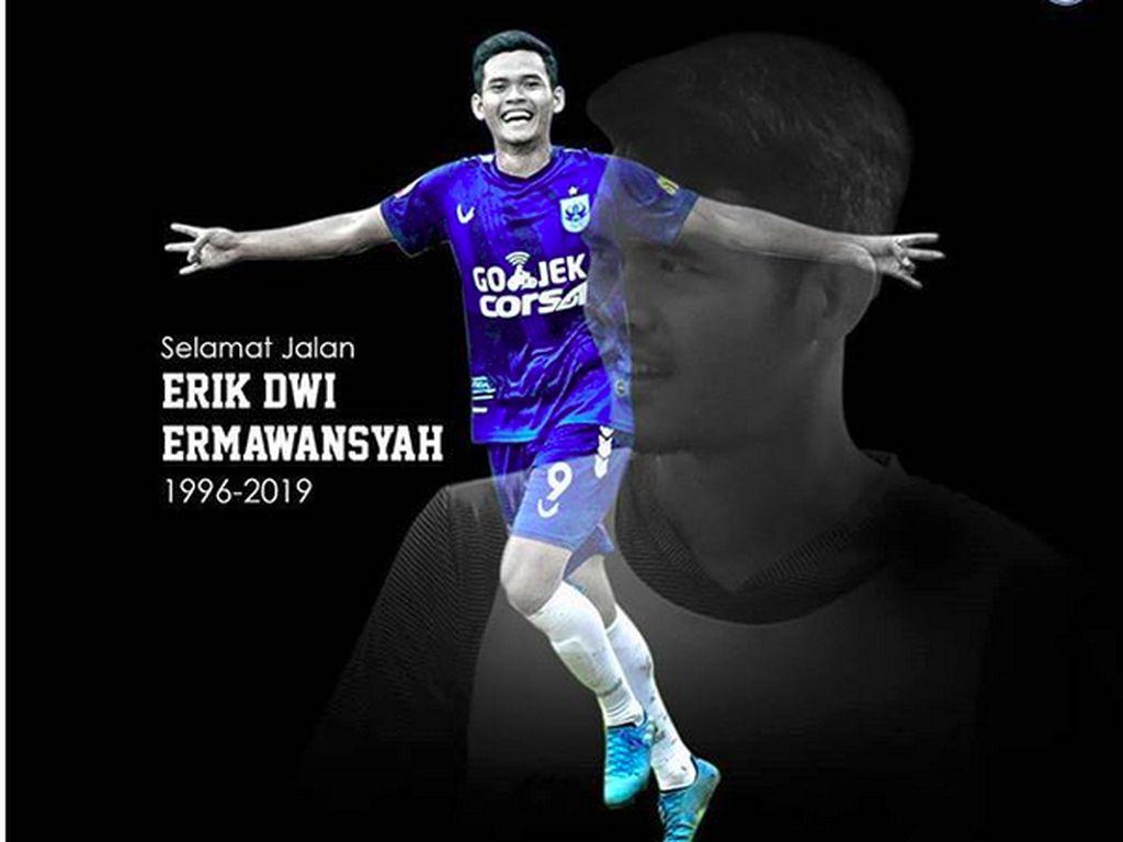 Eks Pemain PSIS Semarang Erik Dwi Ermansyah Meninggal Dunia