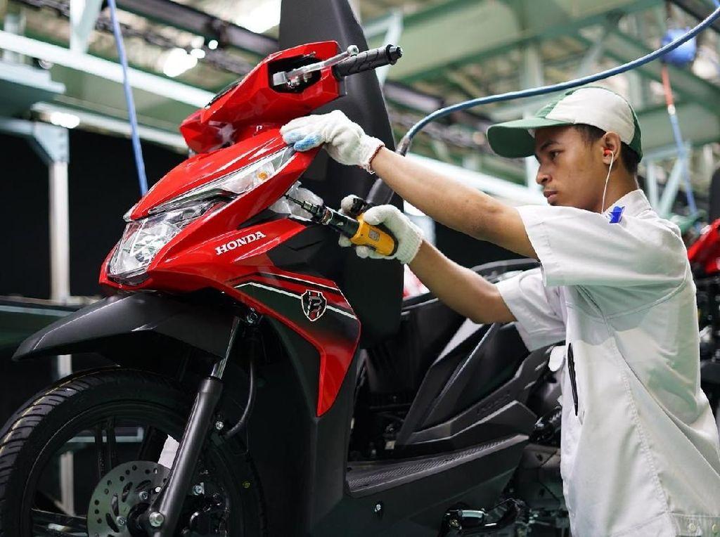 Tunjukkan Jari Bertinta, Motor Honda Diskon Angsuran Rp 600 Ribu