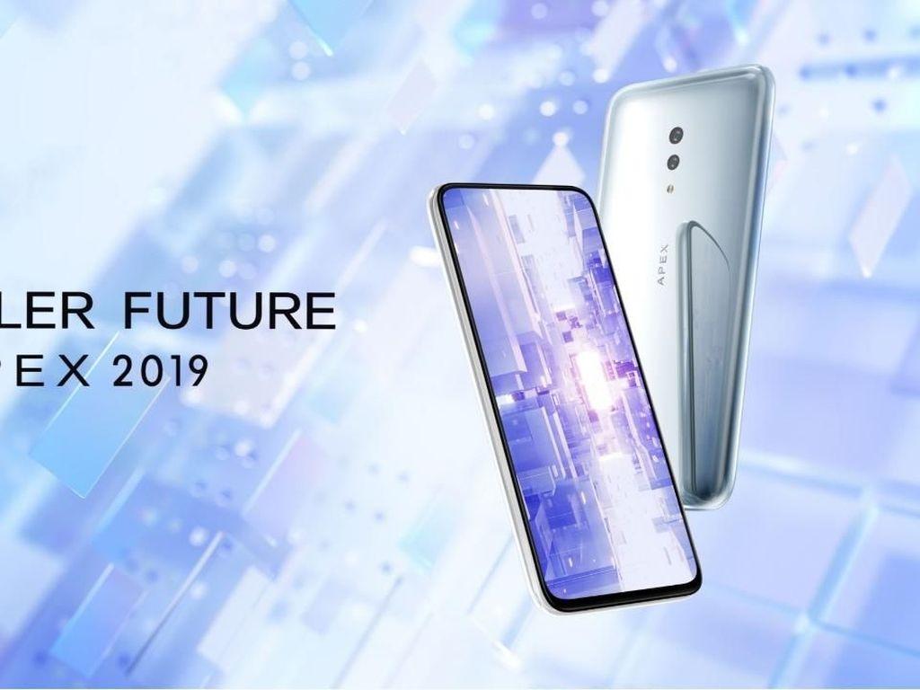 APEX 2019, Smartphone 5G Jagoan Vivo dengan Desain Minimalis